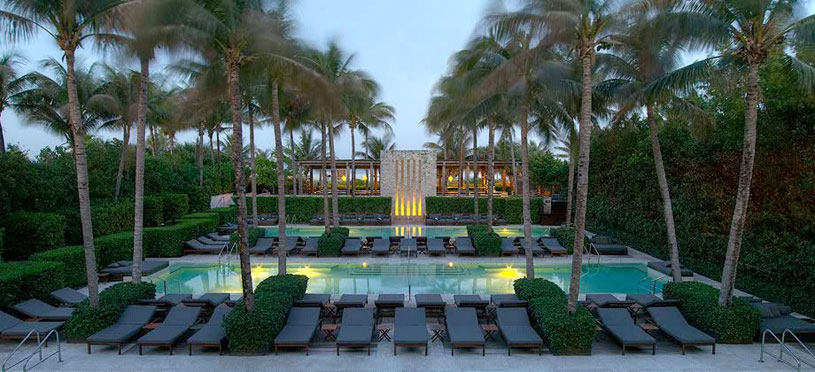 Pool At The Setai, Miami, FL