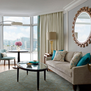 Langham Suite Living Area at Langham Hong Kong