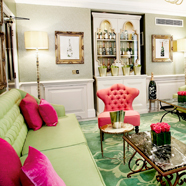 Perriet Jouet Lounge at Dukes Hotel, London, UK