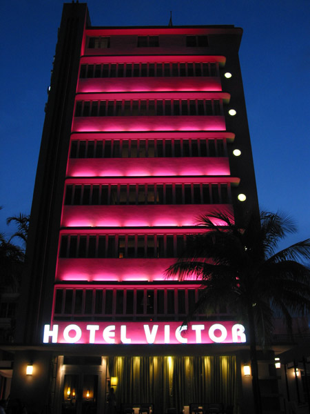 Hotel Victor, South Beach
