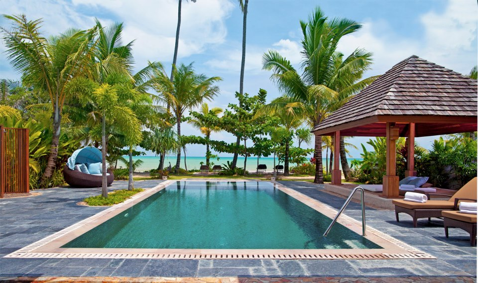 Le Meridien Khao Lak Beach and Spa Resort- Oceanfront residential 2-bedroom beach villa with private poo.