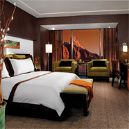 Red Rock Casino King Guestroom