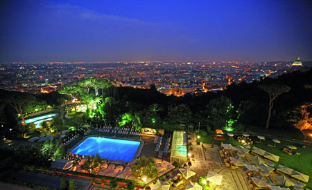 Rome Cavalieri The Waldorf Astoria Collection