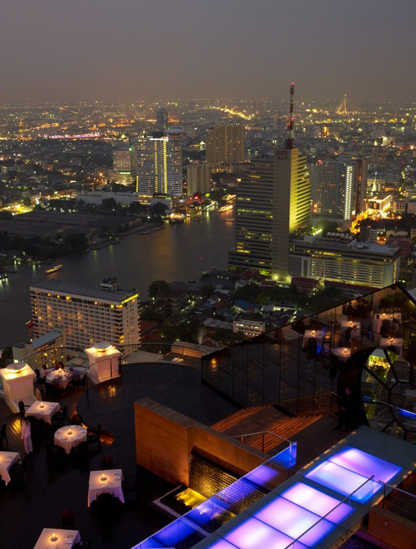Tower Club at lebua View of Bangkok