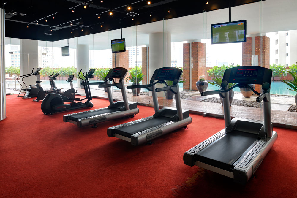 Fitness Center at Tower Club at Lebua, Thailand