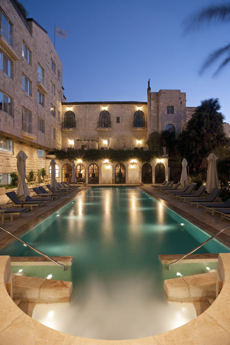 Cool pools american colony hotel five star alliance for Hotels in jerusalem with swimming pool