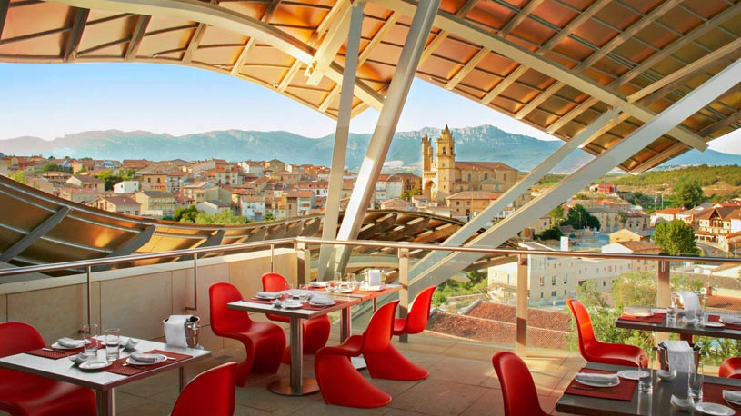 Dining Area at The Marques De Riscal Hotel