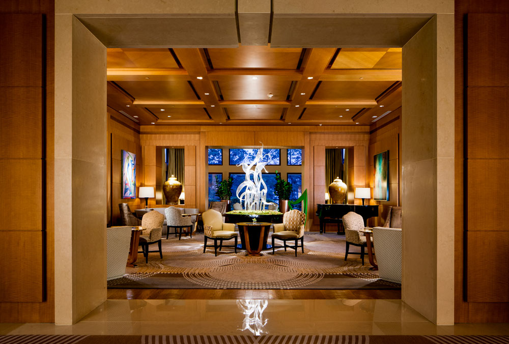 The Umstead Hotel and Spa Lobby