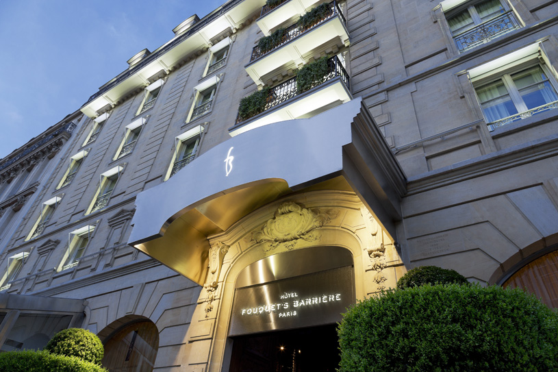 Hotel Fouquet's Barriere Exterior