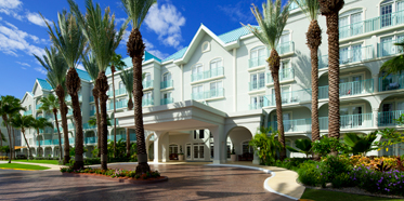 Exterior of Westin Grand Cayman