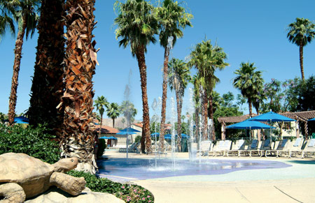 Resorts springs hot in Swinger desert