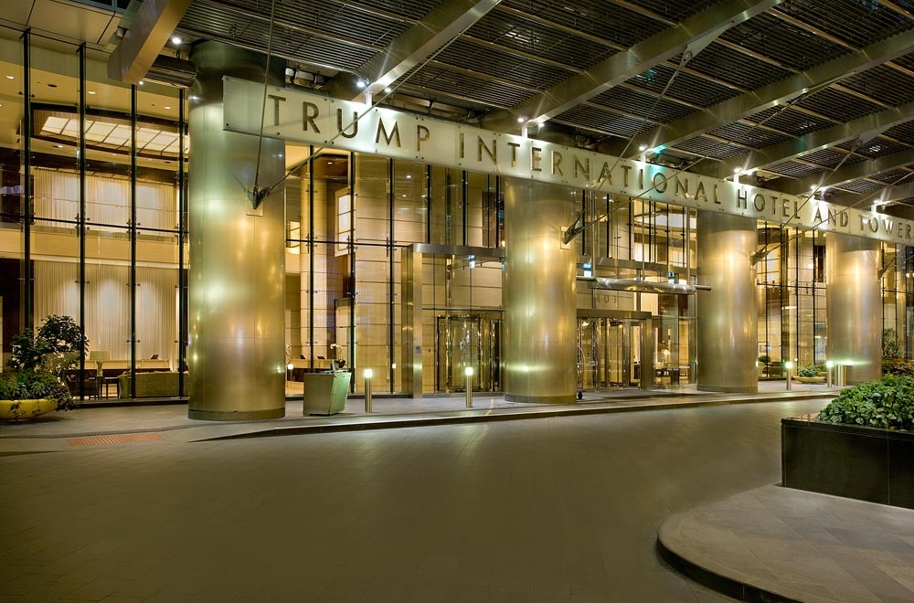 Entrance to Trump International Hotel Chicago