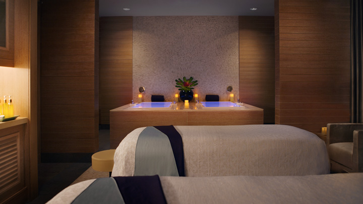 Sponsored post special spa services at trump for Chicago resorts and spas