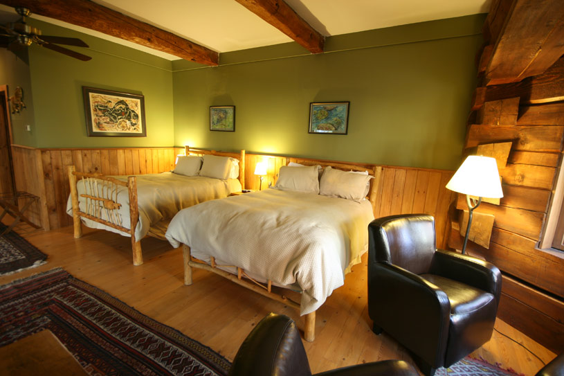 Acadian Junior Suite at Trout Point Lodge