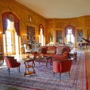 Library at Oheka Castle Hotel