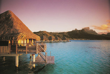 Intercontinental la moana bora bora