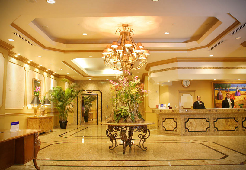 InterContinental Miramar Panama Lobby