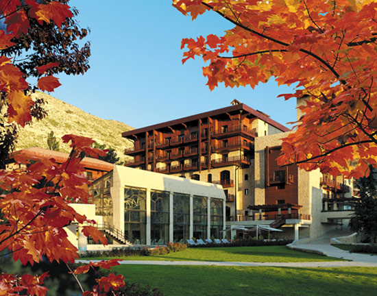 InterContinental Mountain Resort and Spa Mzaar in the Fall