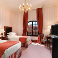 Double Guestroom at Hilton Molino Stucky Venice, Italy