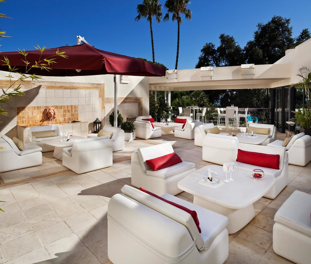 Red Level Lounge at Gran Melia Don Pepe, Spain