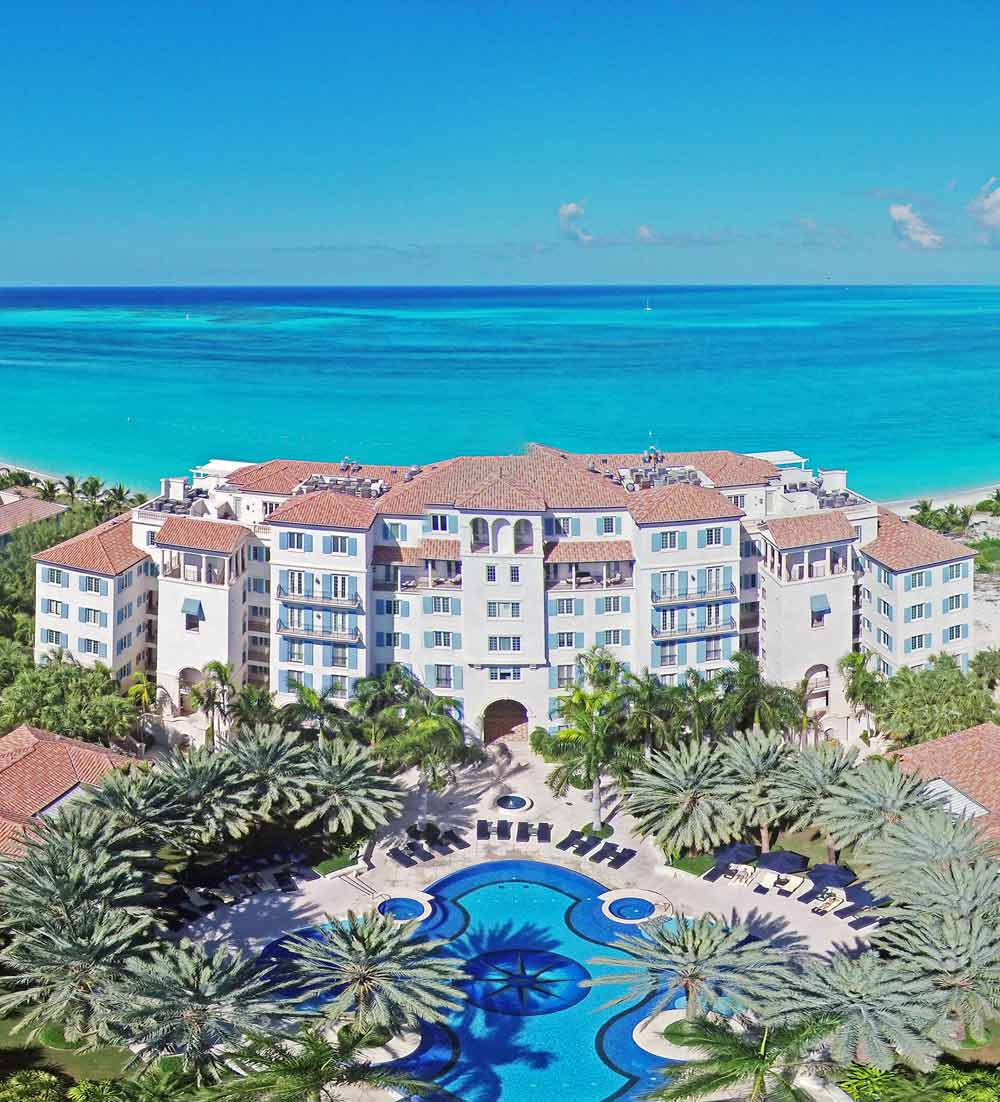 Exterior of The Regent Grand Turks and Caicos