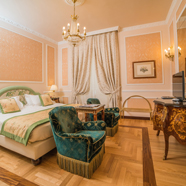 Suite at Hotel Bernini Palace, Florence, Italy