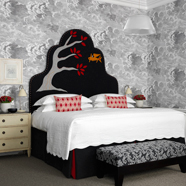 <p>Haymarket Hotel Guestroom, London, United Kingdom&nbsp;</p>