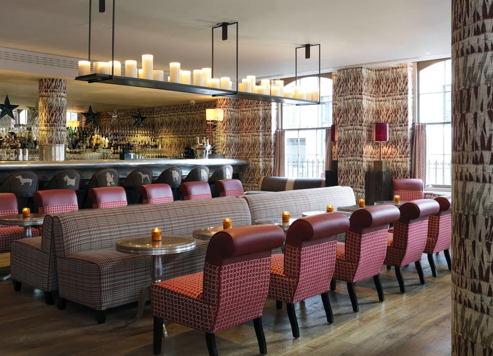 <p>Brumus Bar at Haymarket Hotel, London, United Kingdom&nbsp;</p>