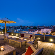 Rooftop Terrace at Sofitel Brussels Europe