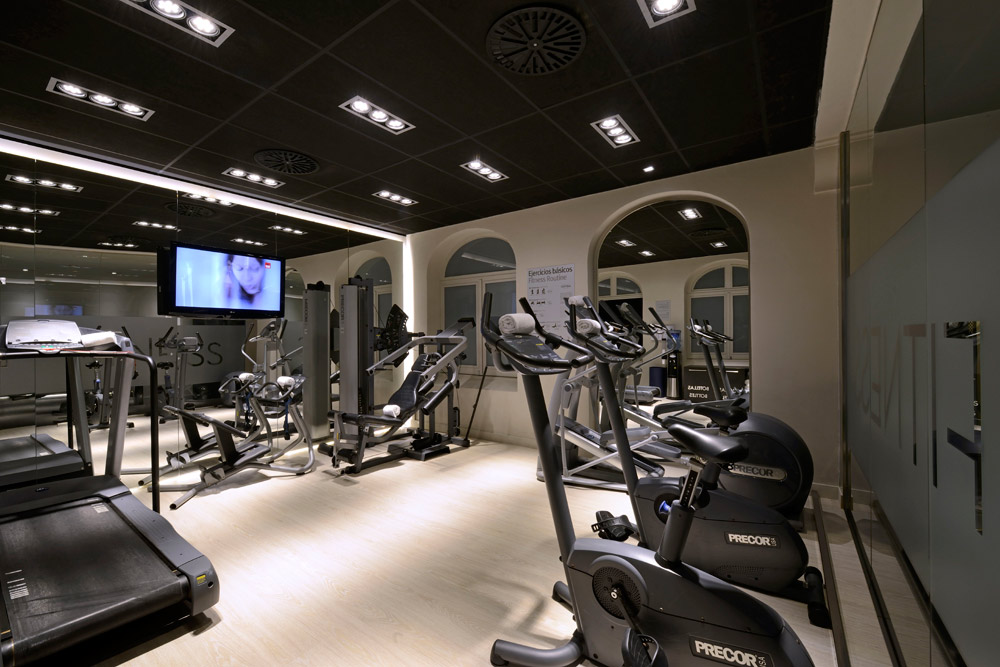 Fitness Center, Grand Hotel Central Barcelona