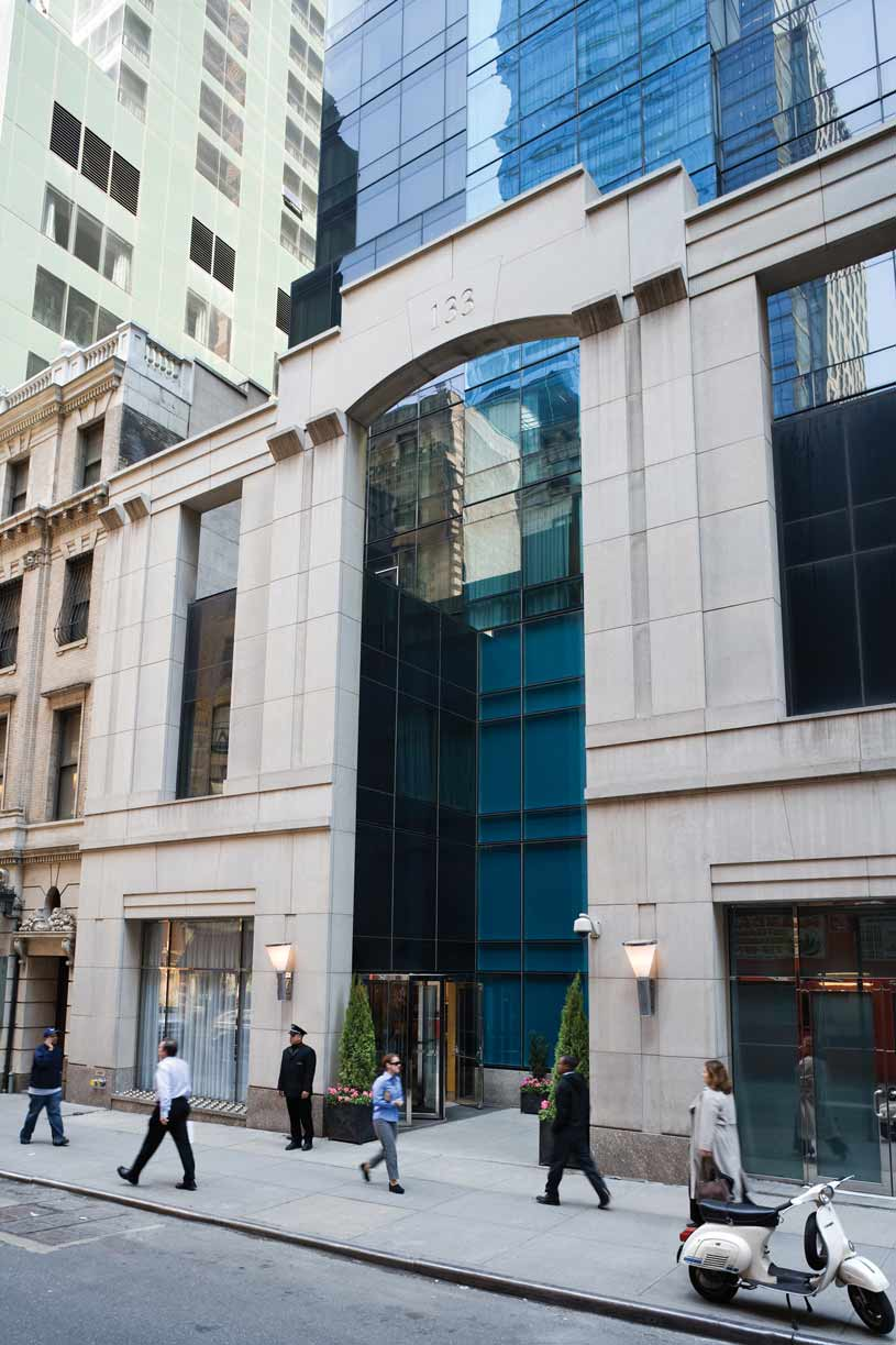 Exterior of Premier Hotel New York