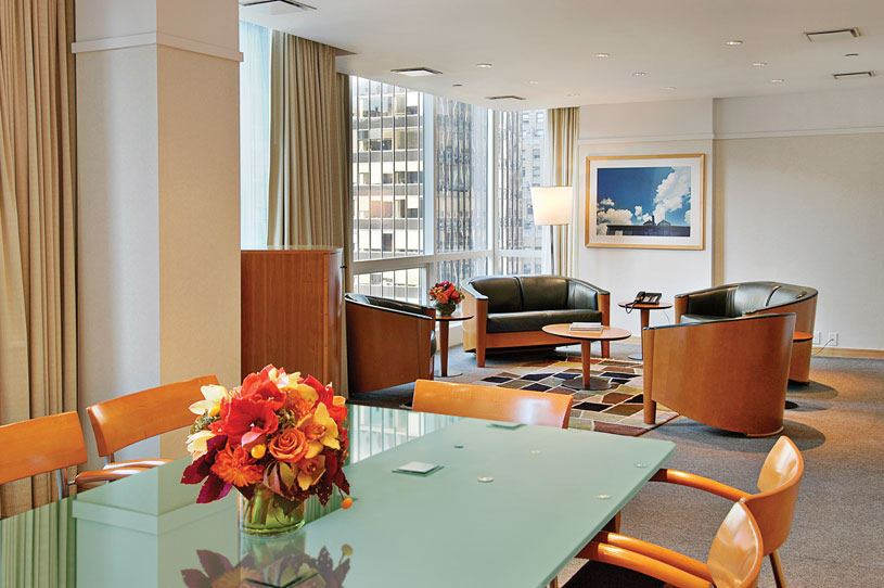 Suite at The Premier Hotel New York