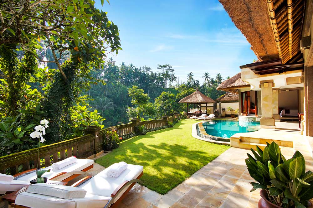 View from The Viceroy Villa, Viceroy Bali