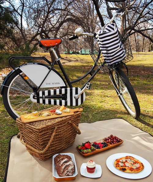 Picnic and bike by renowned chef Jean-Georges Vongerichten.