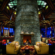The Ritz-Carlton Lake Tahoe Lobby Fire Pit