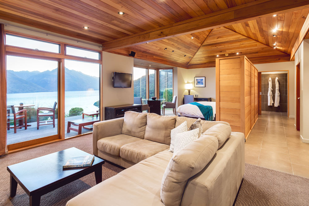 Suite Family Room at Azur Lodge, Queenstown