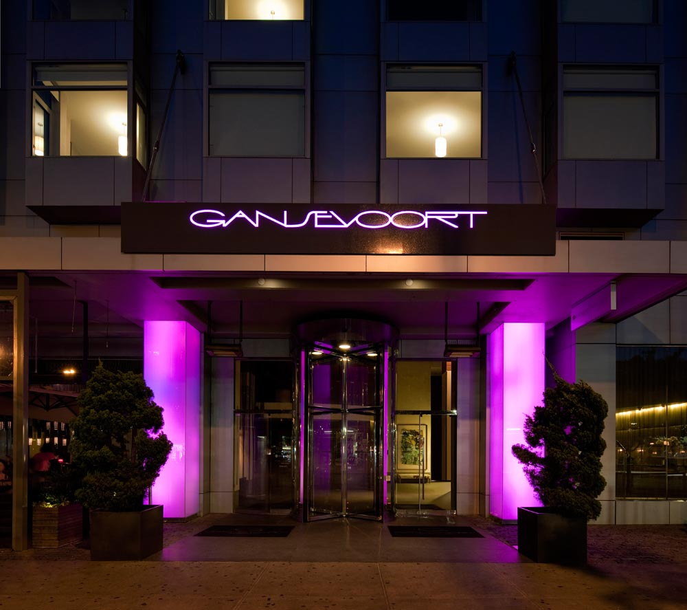 Exterior of Gansevoort Meatpacking in New York Ciy