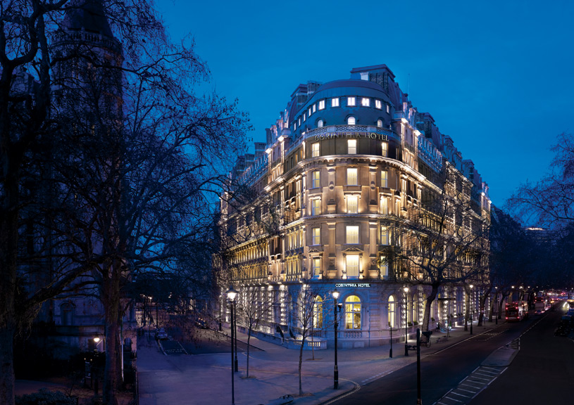 Exterior of Corinthia Hotel London