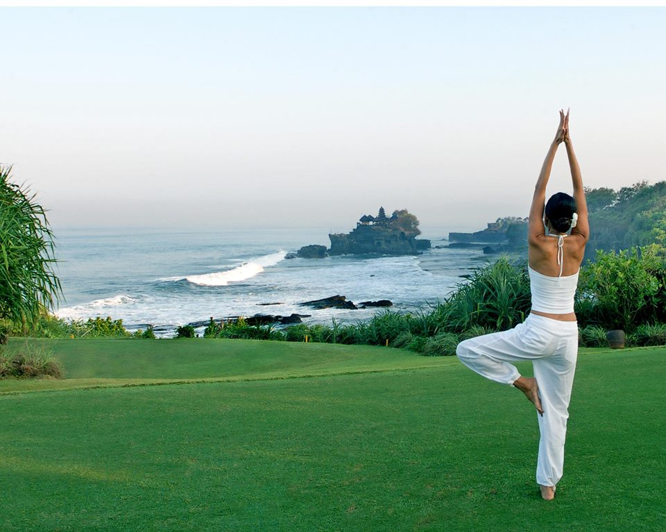 Pan Pacific Nirwana Bali Resort Outdoor Yoga