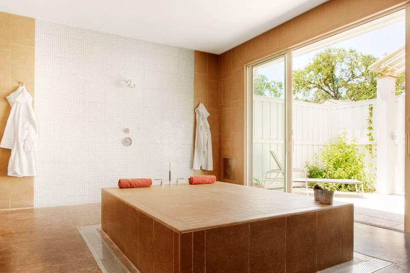 Couples Mud Lounge at The Solage Calistoga