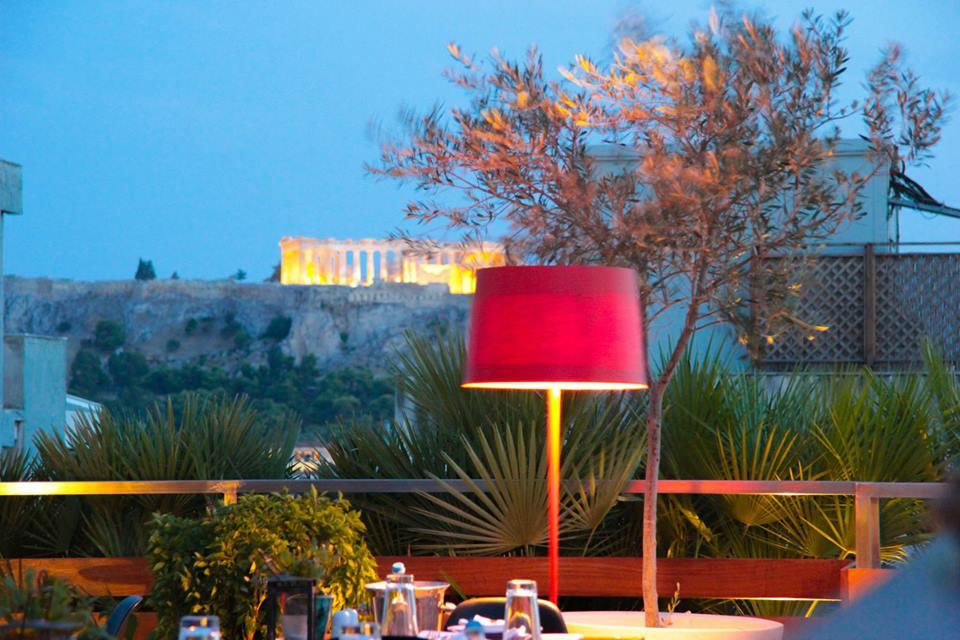 Dining al Fresco Fresh Hotel Athens