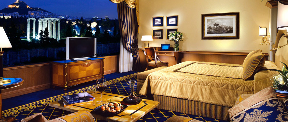 Luxury Room with View of Athens at Royal Olympic Hotel Greece