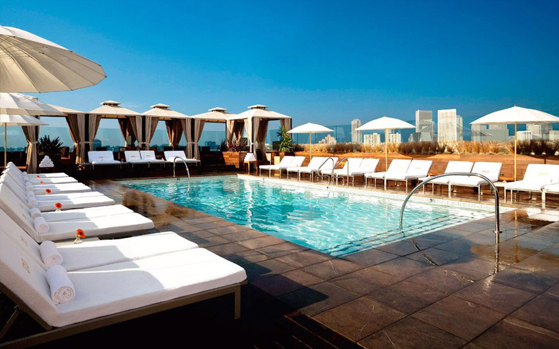 Cool Pools Sixty Beverly Hills Five Star Alliance