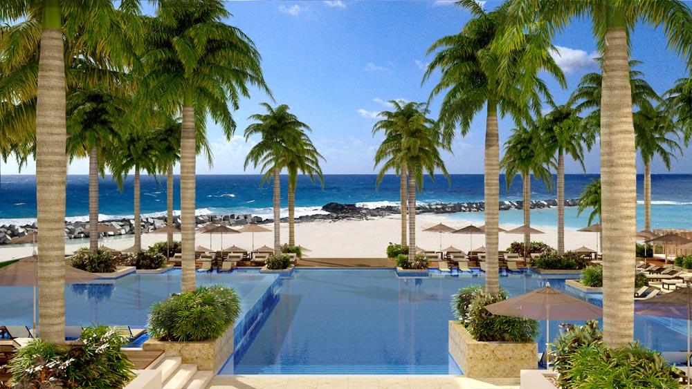 All inclusive summer luxury at hyatt ziva cancun five for Luxury resorts mexico all inclusive