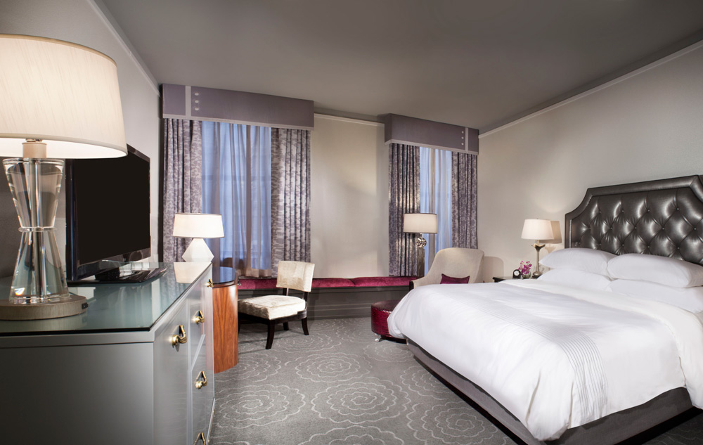 King Room at The Silversmith Hotel And Suites, Chicago, IL