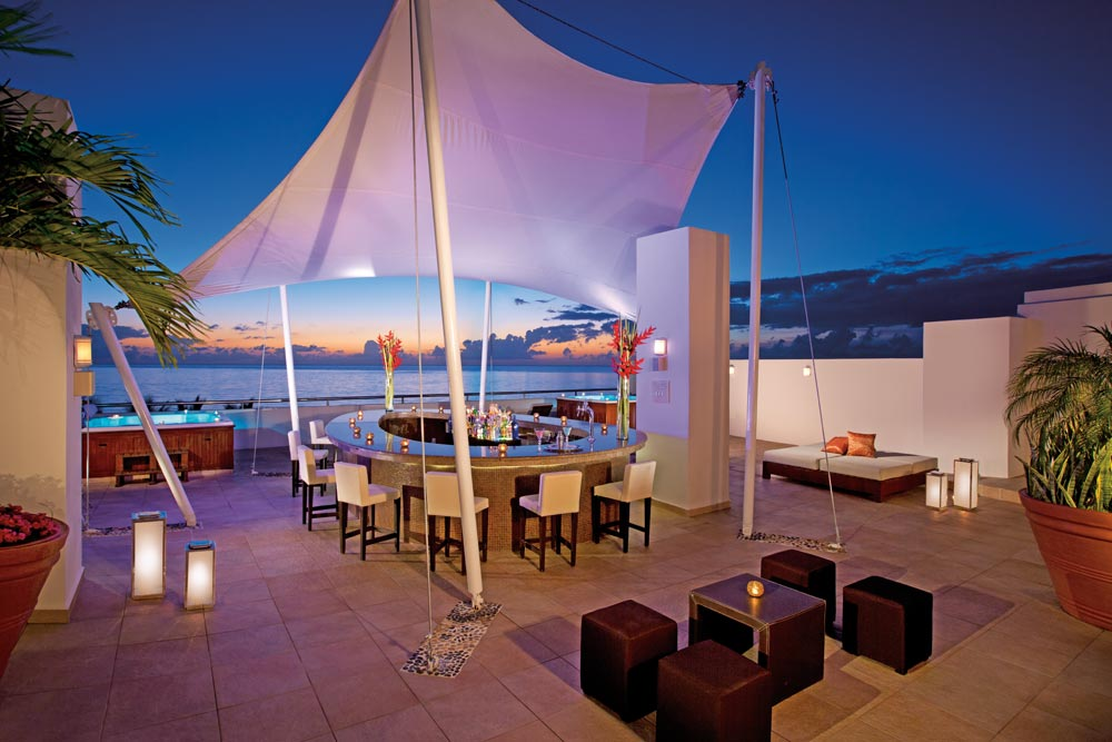 Sky Bar at Aura Cozumel Grand Resort