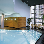 Wellness Pool at Lindner Main Plaza Frankfurt, Germany