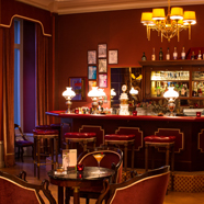 Bar at Lindner Grandhotel Beau Rivage, Switzerland