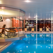 Spa and Pool at Lindner Grandhotel Beau Rivage, Switzerland