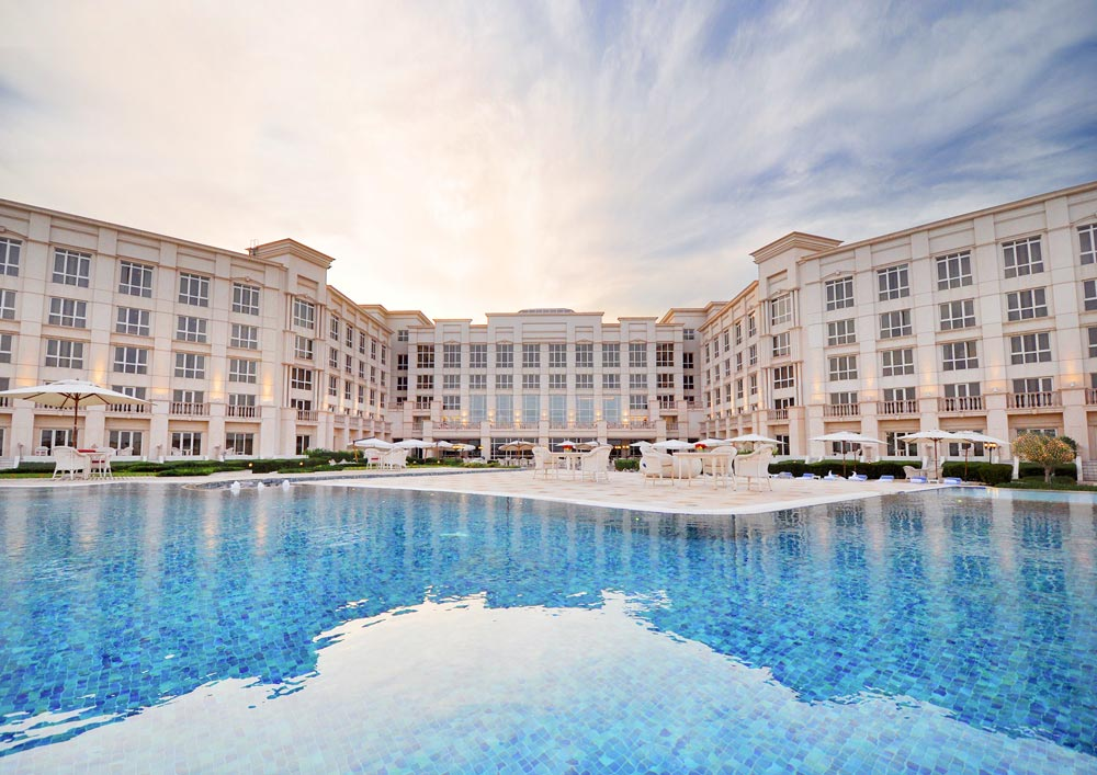 Pool and Exterior of The Regency Hotel Kuwait
